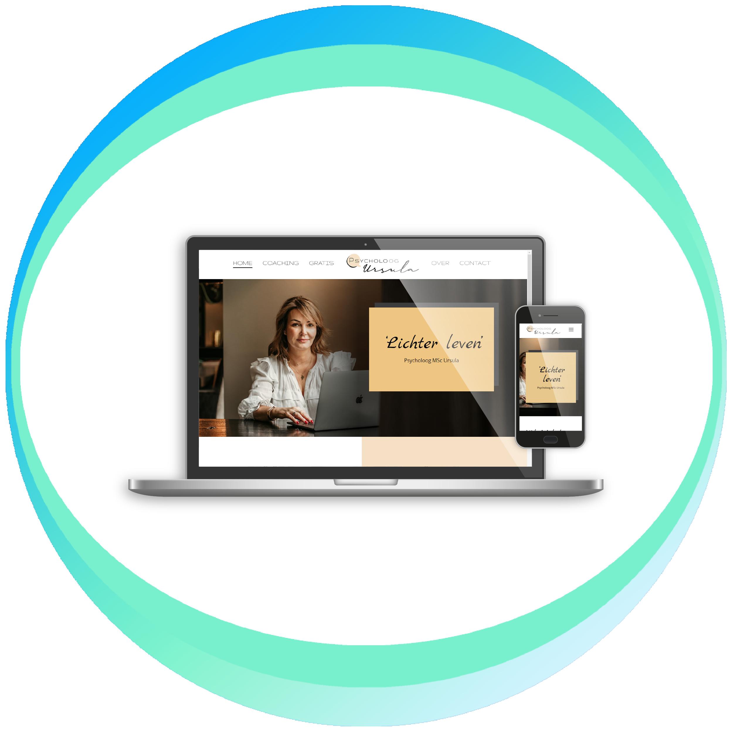 voorbeeld webdesign Show ON design